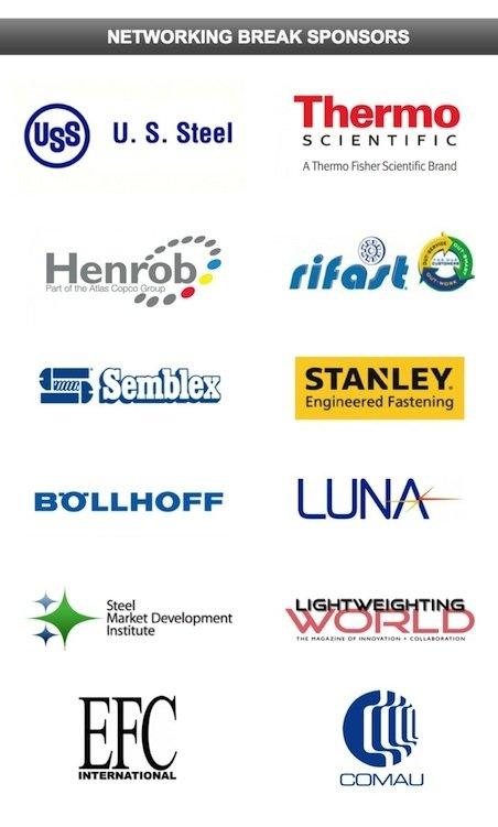 Networking Break Sponsors